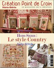 French cross stitch magazine Creation point de croix No.17 Special