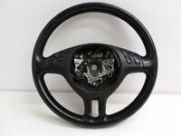 01 02 03 04 05 06 BMW 325i E46 Steering Wheel W/ Audio Controls 6760659 OEM