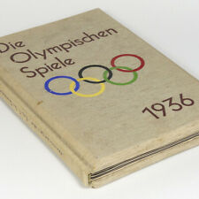Stereo View Book German Olympic Games 1936 w/100 photos Raumbild Berlin Germany