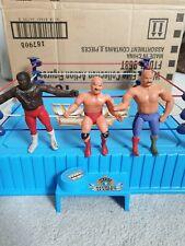WWF WWE LJN Wrestling Vintage Figure Bundle Rare Bendies Thumb Sheik JYD