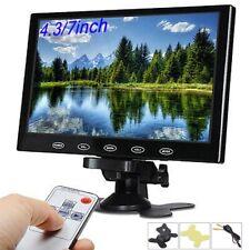 "7"" LCD TFT Car Rearview Monitor Display 12V 24V For Car Truck Van Back up Camera"