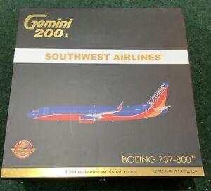 New Gemini 1/200 Southwest Airlines 737-800 N830IJ G2SWA349