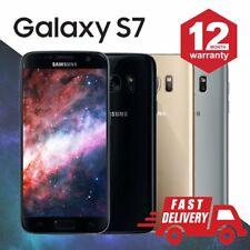 SAMSUNG GALAXY S7 32GB sbloccato SIM gratuito 4G LTE Android Mobile Grado A +++