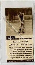 (Ga6421-315) Cotton, Golf Strokes A32/B19 1936 EX