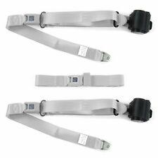 AMC Eagle 1979 - 1987 Standard 3pt G/G Retractable Bench Seat Belt Kit - 3 Belts