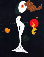 JOAN MIRO, Nude , OFFSET LITHOGRAPH 1989, PLATE-SIGNED