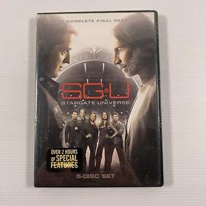 SGU Stargate Universe : Season 2 final (DVD, 2011, 5-Disc Set) Region 1 sealed
