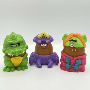 1995 McDonalds McNugget Nugget Buddies Meal Toys Halloween Dragon Spider Monster