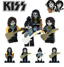 The KISS Band G3 Custom Minifigure Gashapon MOC LEGO Nuovo in Blister