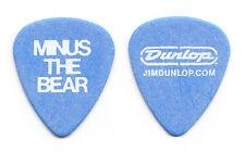 Minus The Bear Dave Knudson Blue Guitar Pick - 2010 Tour