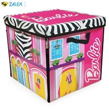 New Barbie Store It All Storage Case for Dolls and Accessories Pink Carry Box
