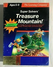 Super Solvers Treasure Mountain PC Game Tandy Disks 1990