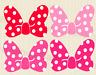 12-40 Puffy Poka Dot Bow #02 Die Cut Embellishment Layered Birthday Party Minnie