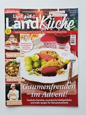 Lust auf Landküche Nr.6/2018, Gaumenfreuden im Advent,Neu