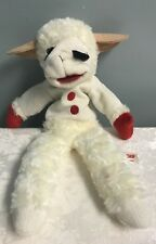 "Lamb Chop Hand Puppet  16""  Plush Doll Aurora Shari Lewis Lambchop  SOFT"