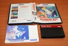 Jeu Sega Master System  WONDER BOY IN MONSTER WORLD   complet  VF