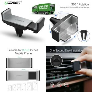 Car Mount Air Vent Smart Phone Holder 360 Stand for Iphone 8  Samsung Galaxy Lg