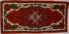 Large Egyptian Islamic Middle Eastern Folk Art khayameya Wall Tapestry PatchWork