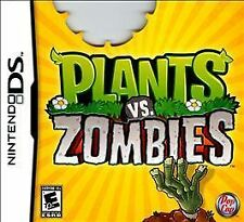 GUC DS Lite Video Game Plants vs. Zombies (Nintendo DS, 2011) with case