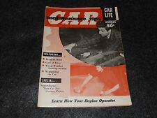1955 Car Life Car Maintenance Tips Magazine Annual supercharger Break in hints