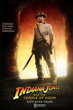 Sideshow Indiana Jones Temple of Doom Sixth Scale Figure - Ford, Spielberg