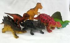 Dinosaurs, T-Rex, Stegosaurus,Dimetrodon,Ve lociraptor,Ankylosaurus,St yracosaurus
