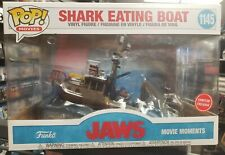 New listing Jaws Shark Eating Boat & Quint Movie Moments Funko Pop Gamestop Exclusive*