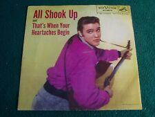 ELVIS PRESLEY / ALL SHOOK UP/ RCA # 47-6870  45rpm