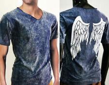 Short Sleeve Stretch Retro T-Shirts for Men
