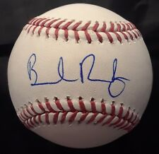 BRENDAN RODGERS Autographed Signed Official Baseball ROMLB ROCKIES TOP PROSPECT