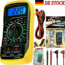 Digital Multimeter Stromprüfer Vielfach Messgerät Voltmeter Spannungsmesser