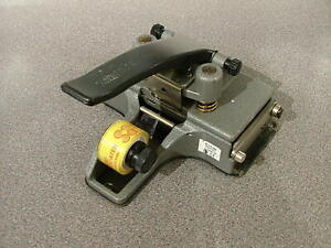 CIR CATOZZO MODEL M2 35mm FILM SPLICER - GOOD WORKING ORDER  #542 #2