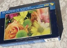 Wonders of Nature: Spring Flowers 500-pc. Puzzle (Cardinal) New, Sealed!