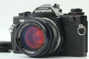 【Near Mint】 Olympus OM-4 Black + ZUIKO MC AUTO-S 50mm f/1.4 Camera From Japan