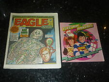 EAGLE & SCREAM Comic - No 135 - Date 20/10/1984 - With Fleetway annual flyer