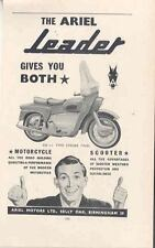 1959 Ariel Leader 250 Motorcycle Ad wn923-XAL2R6
