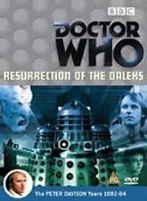 DOCTOR WHO (DR) RESURRECTION OF THE DALEKS R2 DVD PETER DAVISON NEW/SEALED