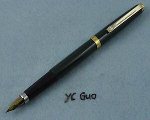 Wing Sung 500 Painted Fountain Pen Fine Nib Green