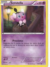 Scrutella -Noir & Blanc- Dragons Exaltés - 55/124 -Carte Pokemon Française Neuve