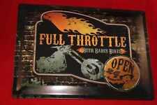 Blechschild Harley Davidson groß 30x40 cm Full Throttle Blechschilder Schild