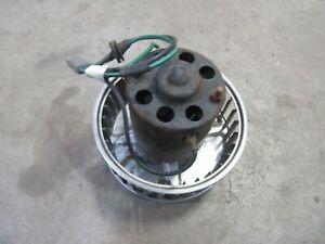 1977 Jaguar XJS interior heater blower fan motor working condition
