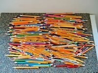 Mixed Lot Of Over 2 1/2 Lbs Of Used Pencils Of Different Brands,Sizes,Lengths
