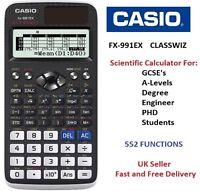 CASIO FX-991EX FX991EX Advanced Scientific Calculator - 552 FUNCTIONS -ClassWiz