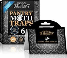Dr. Killigan's Premium Pantry Moth Traps with Pheromones Prime | Safe Non-Tox...