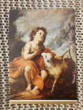 Murillo, St John Baptist Child - Vintage Postcard