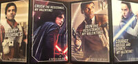 Star Wars Valentines Day Cards 32 Cards w/ 32 Tattoos Ages 3+