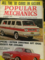 Popular  Mechanics Magazine ----November 1960 issue
