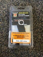 .243 243 6mm Caliber Rifle Pistol Gun Hoppe's Bore Snake Cleaner