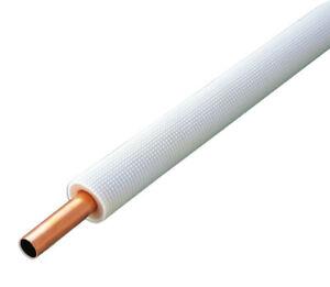 Einzel-Kupferrohrleitung | isoliert | 5/8'' (15,88 mm) | Wandung 1,0 mm