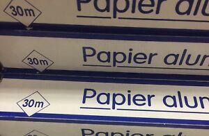 lot revendeur destockage PaletteDe 300 Mètre Papier Aluminium Petit Prix